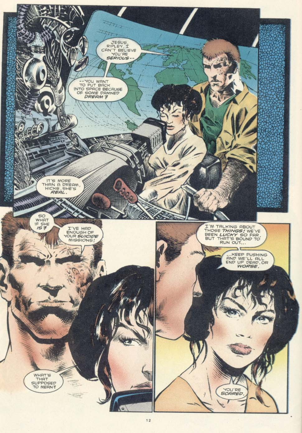 Read online Aliens: Earth War comic -  Issue #2 - 14