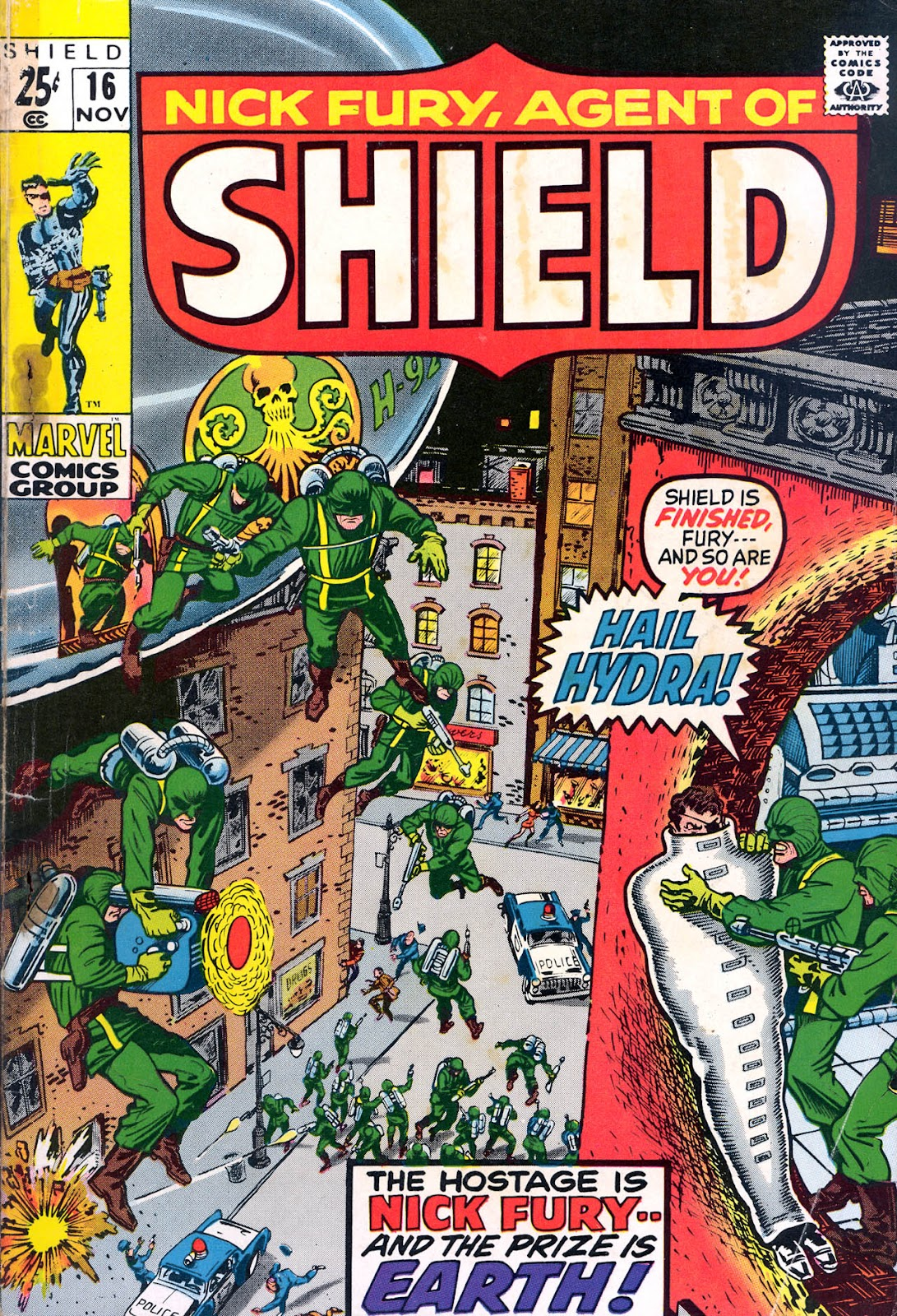 Nick Fury, Agent of SHIELD 16 Page 1
