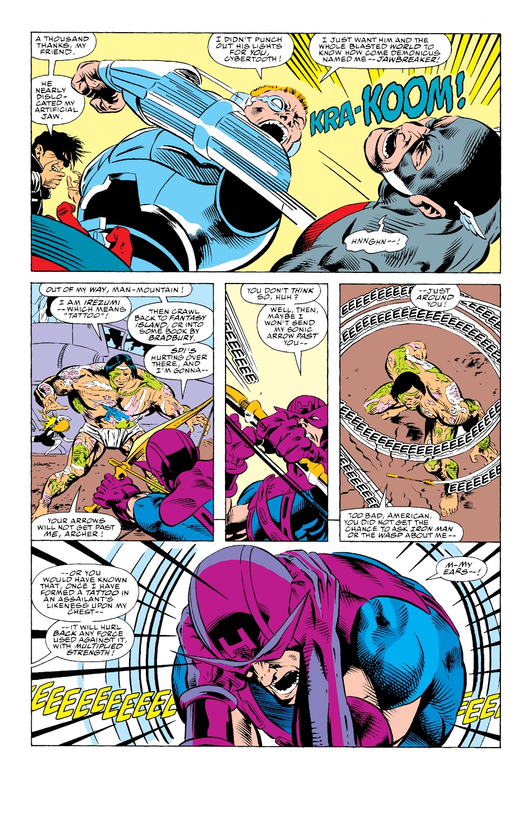 Avengers West Coast (1989) issue 74 - Page 8