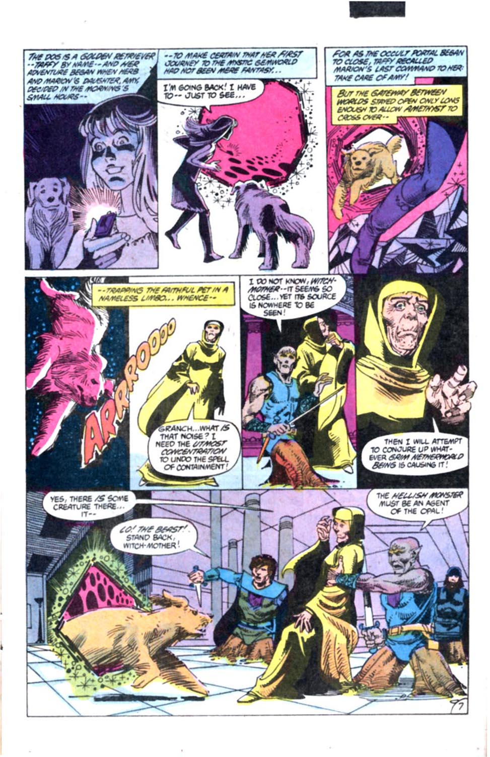 Read online Amethyst, Princess of Gemworld comic -  Issue #2 - 8