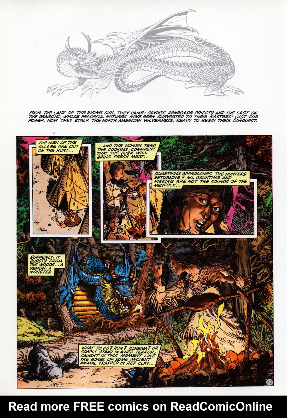 Read online Epic Graphic Novel: Last of the Dragons comic -  Issue # Full - 43