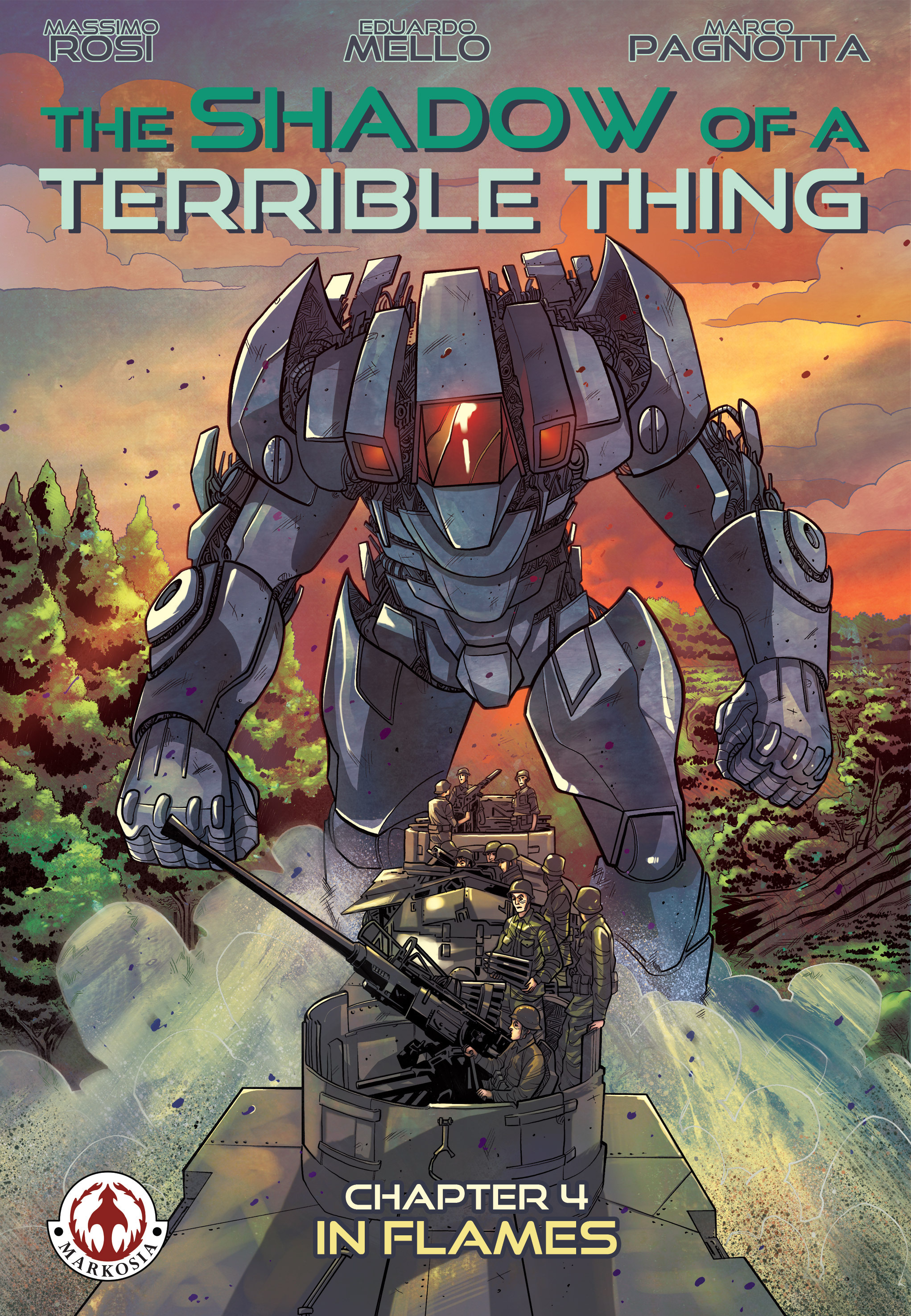 Read online The Shadow of a Terrible Thing comic -  Issue # TPB - 73
