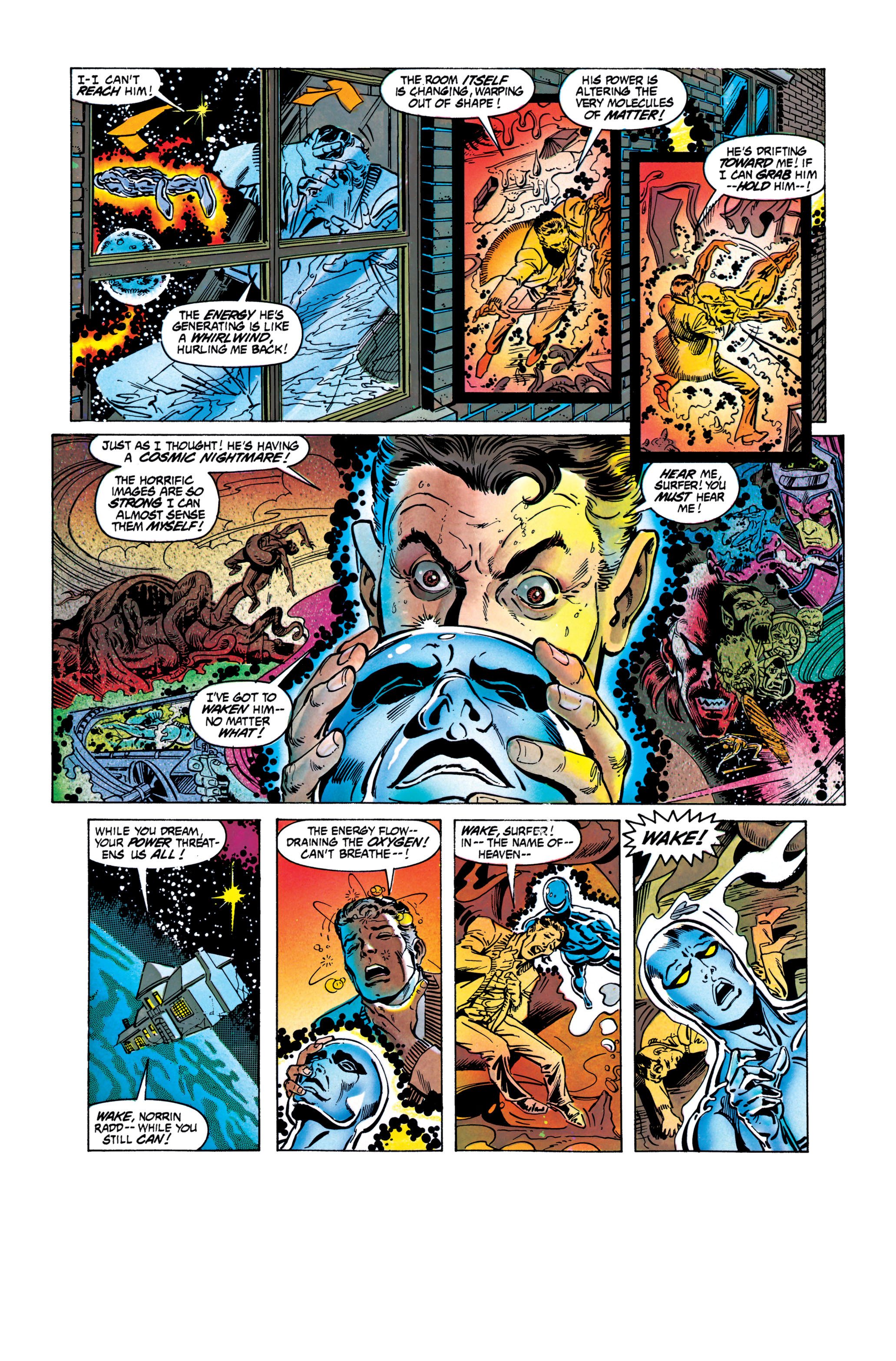 Read online Silver Surfer: Parable comic -  Issue # TPB - 70