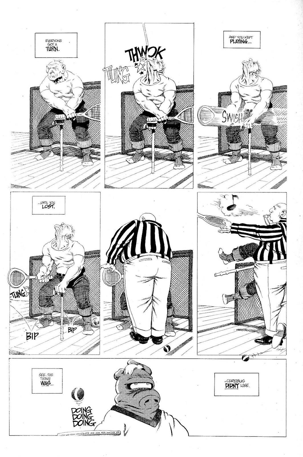 Cerebus Issue #267 #266 - English 5