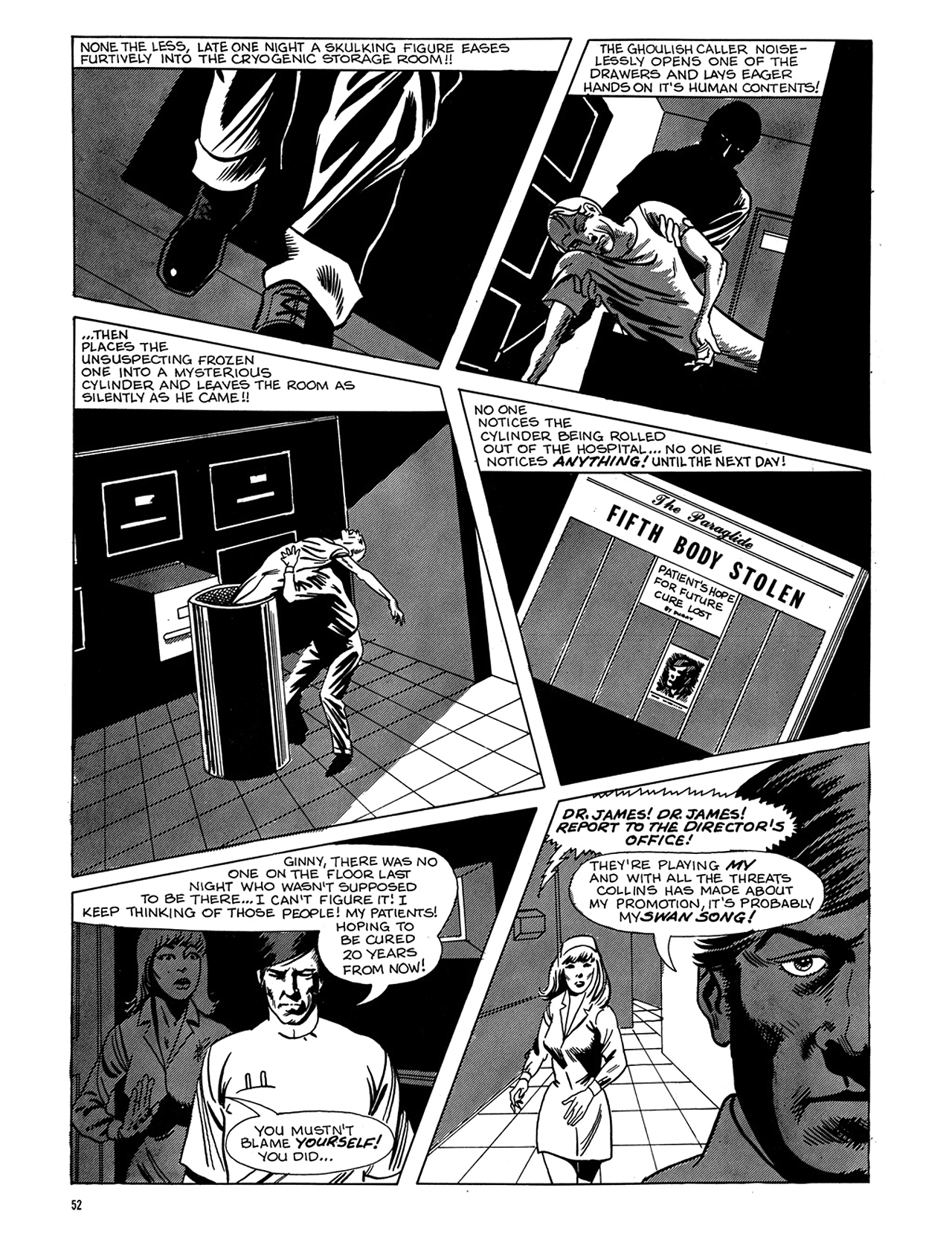 Read online Eerie Archives comic -  Issue # TPB 6 - 53