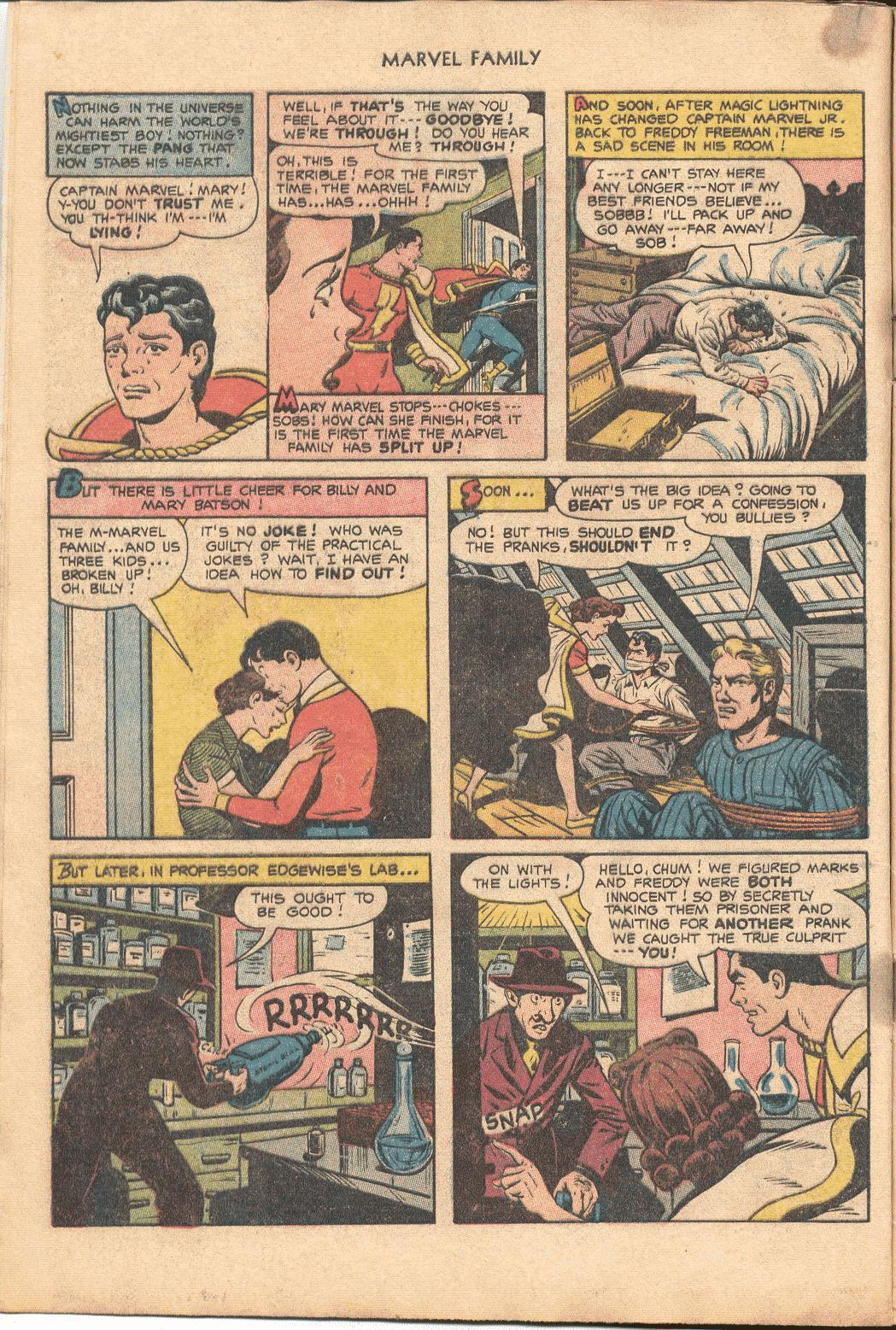 The Marvel Family issue 88 - Page 8