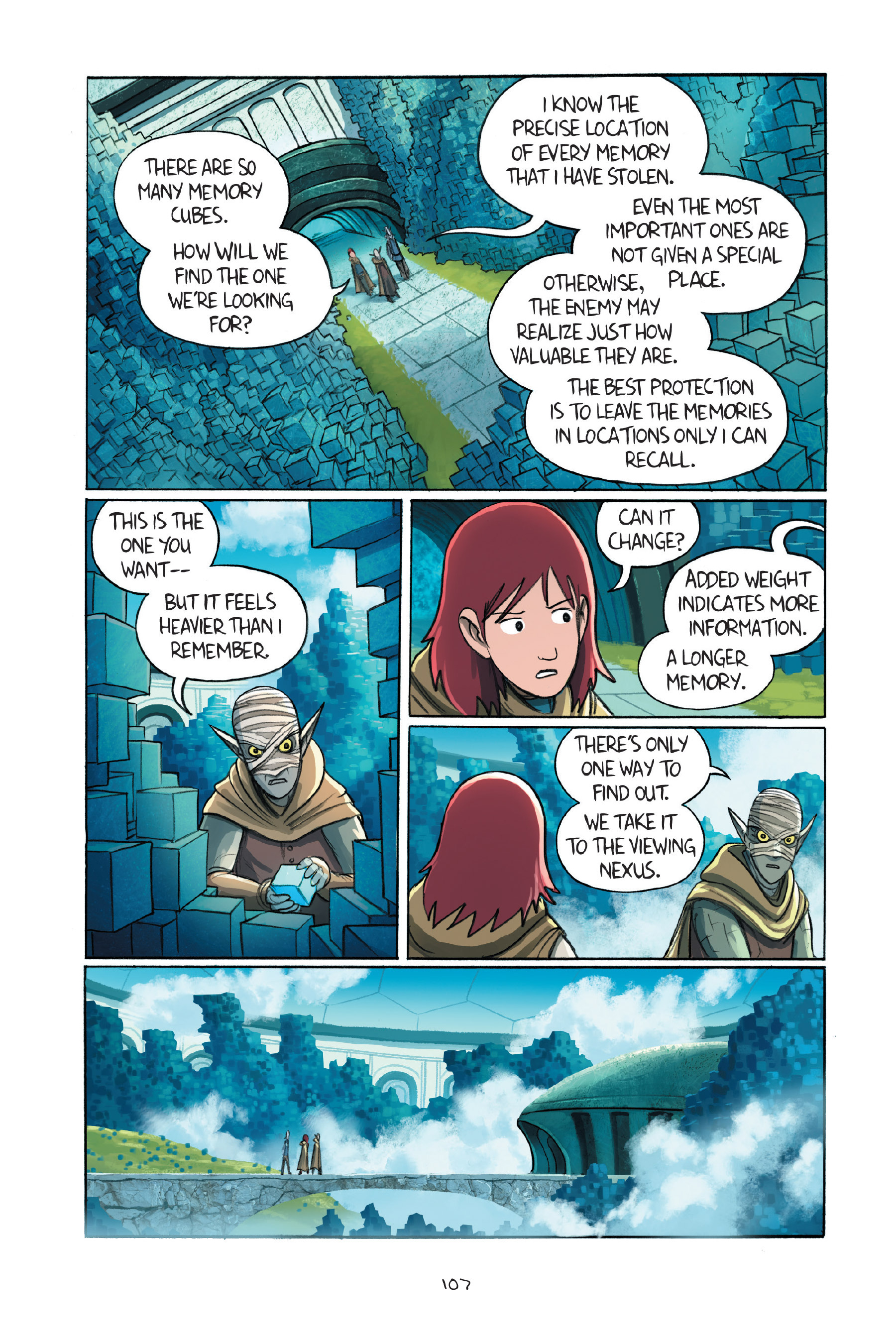 Read online Amulet comic -  Issue #7 - 107