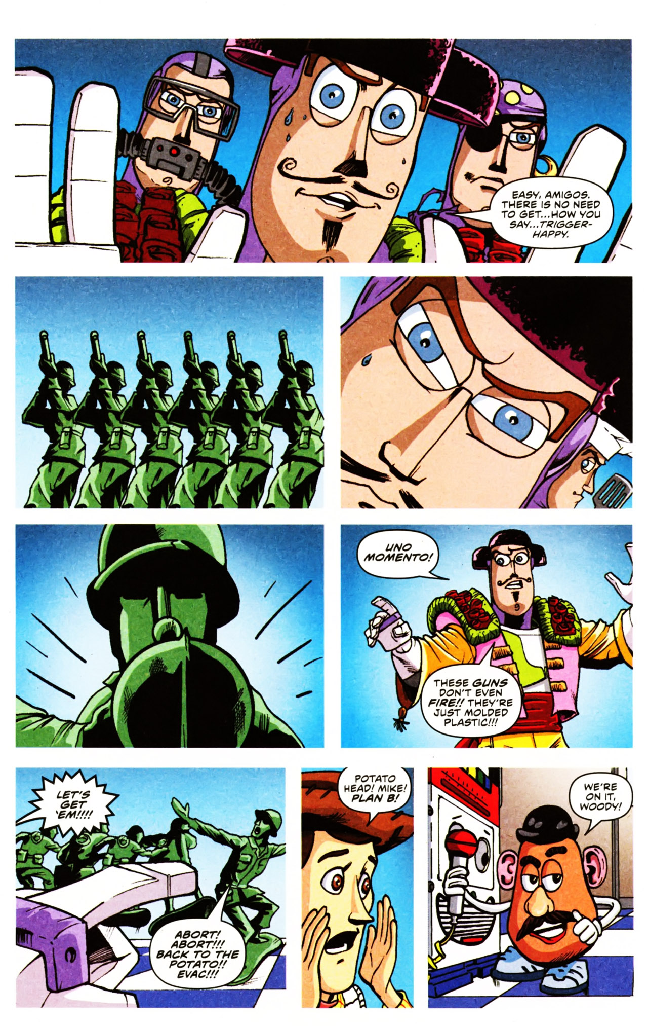 Read online Toy Story (2009) comic -  Issue #2 - 10
