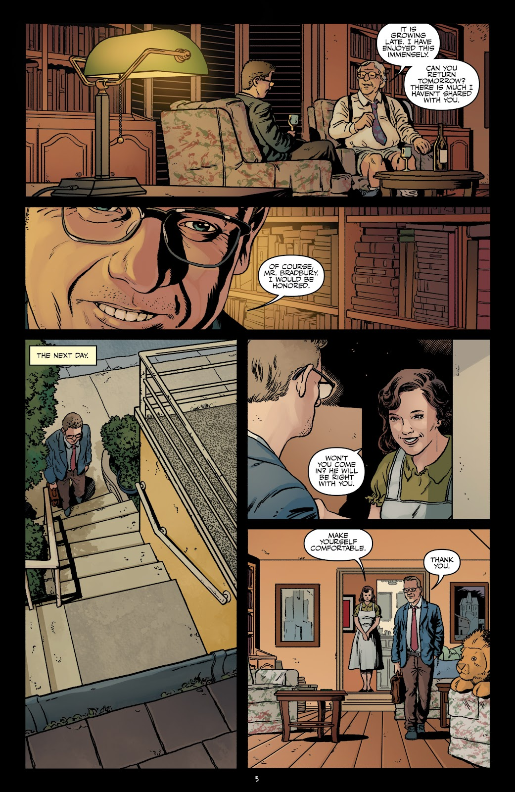 Read online Shadow Show: Stories in Celebration of Ray Bradbury comic -  Issue #3 - 7