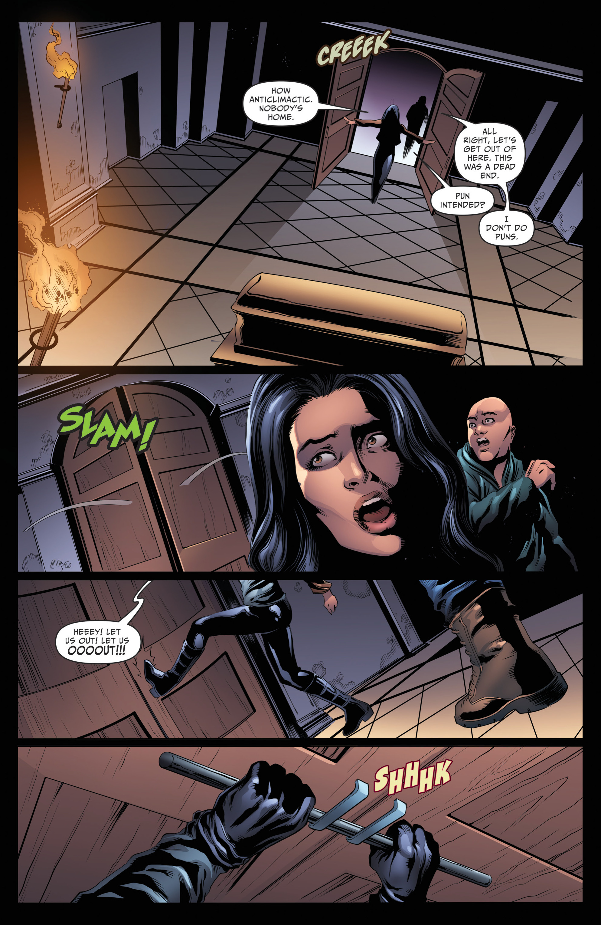 Read online Grimm Fairy Tales: Day of the Dead comic -  Issue #4 - 18