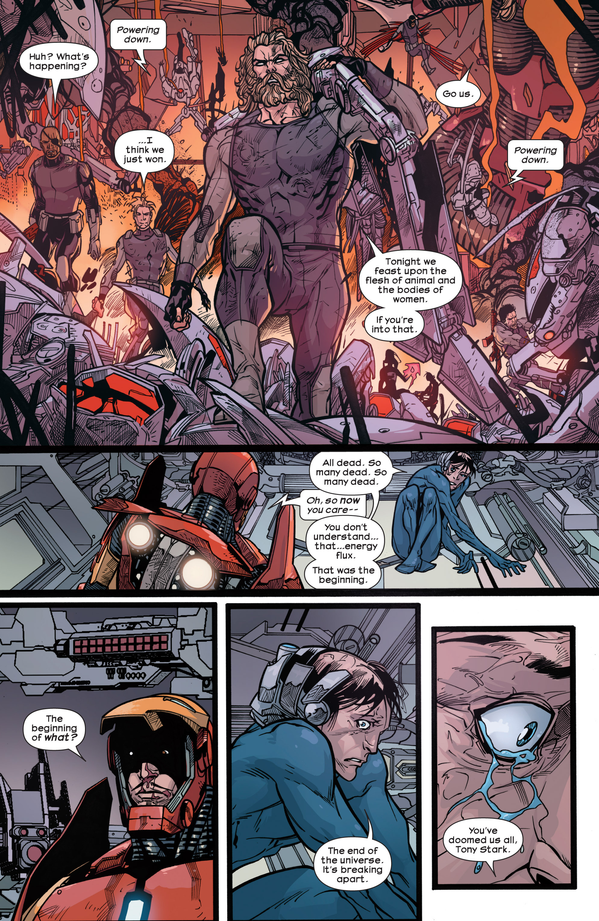 Read online Ultimate Comics Ultimates comic -  Issue #30 - 18