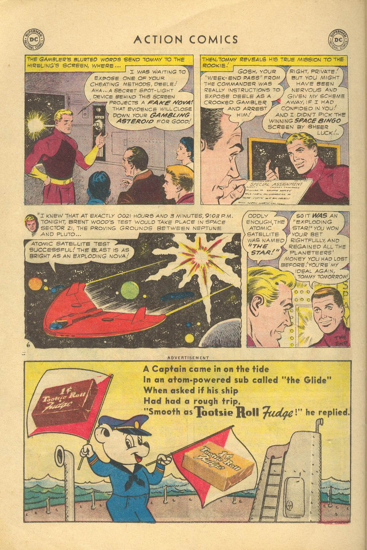 Read online Action Comics (1938) comic -  Issue #249 - 32