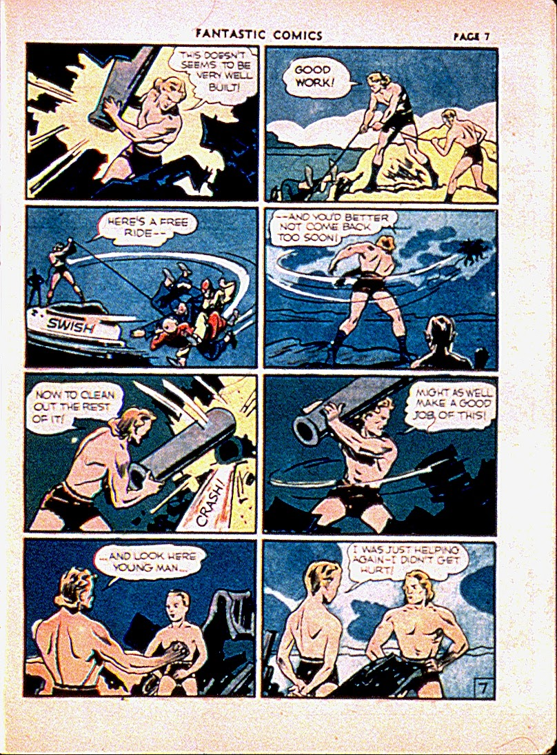 Fantastic Comics issue 13 - Page 10