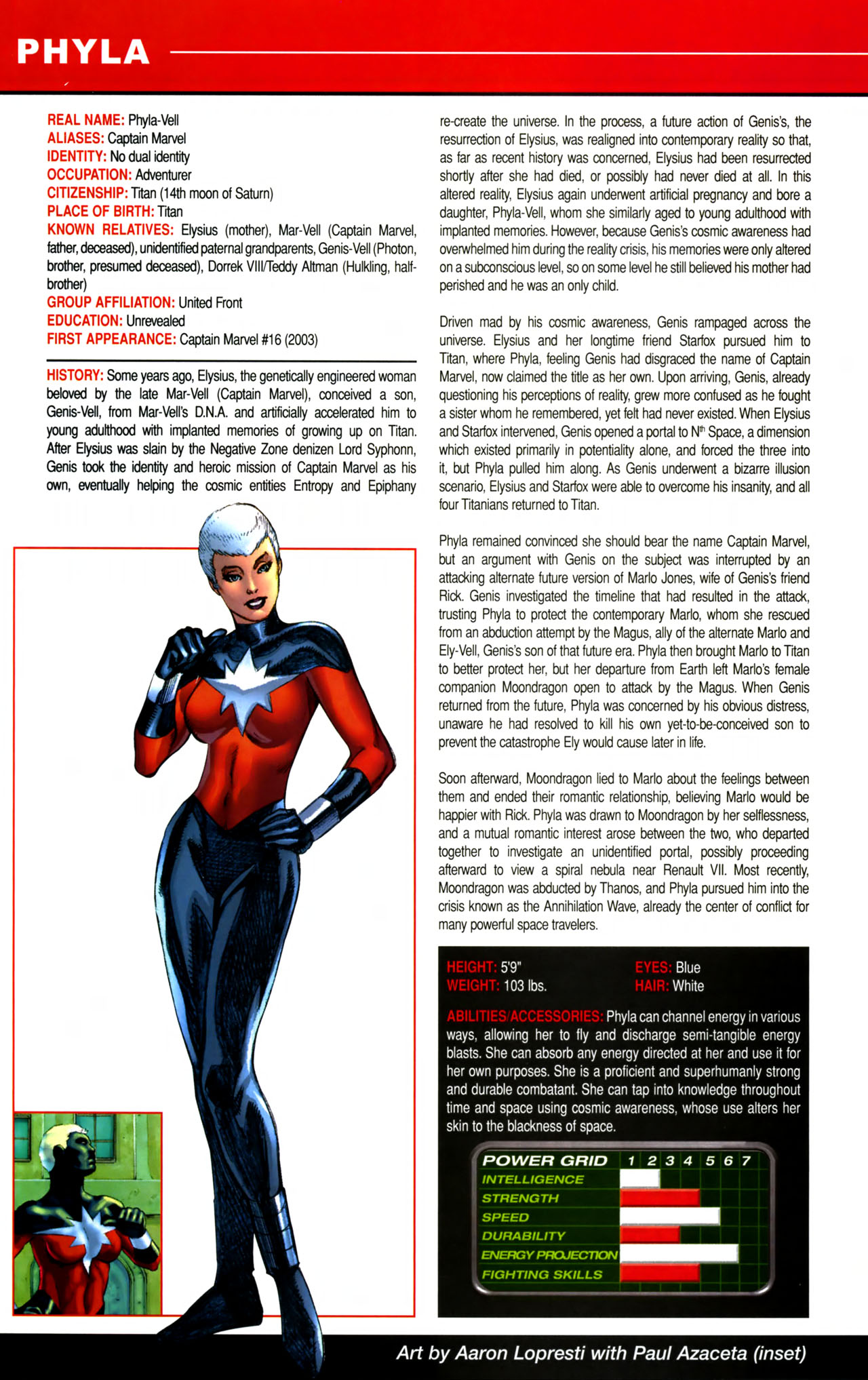 Read online All-New Official Handbook of the Marvel Universe A to Z comic -  Issue #8 - 44