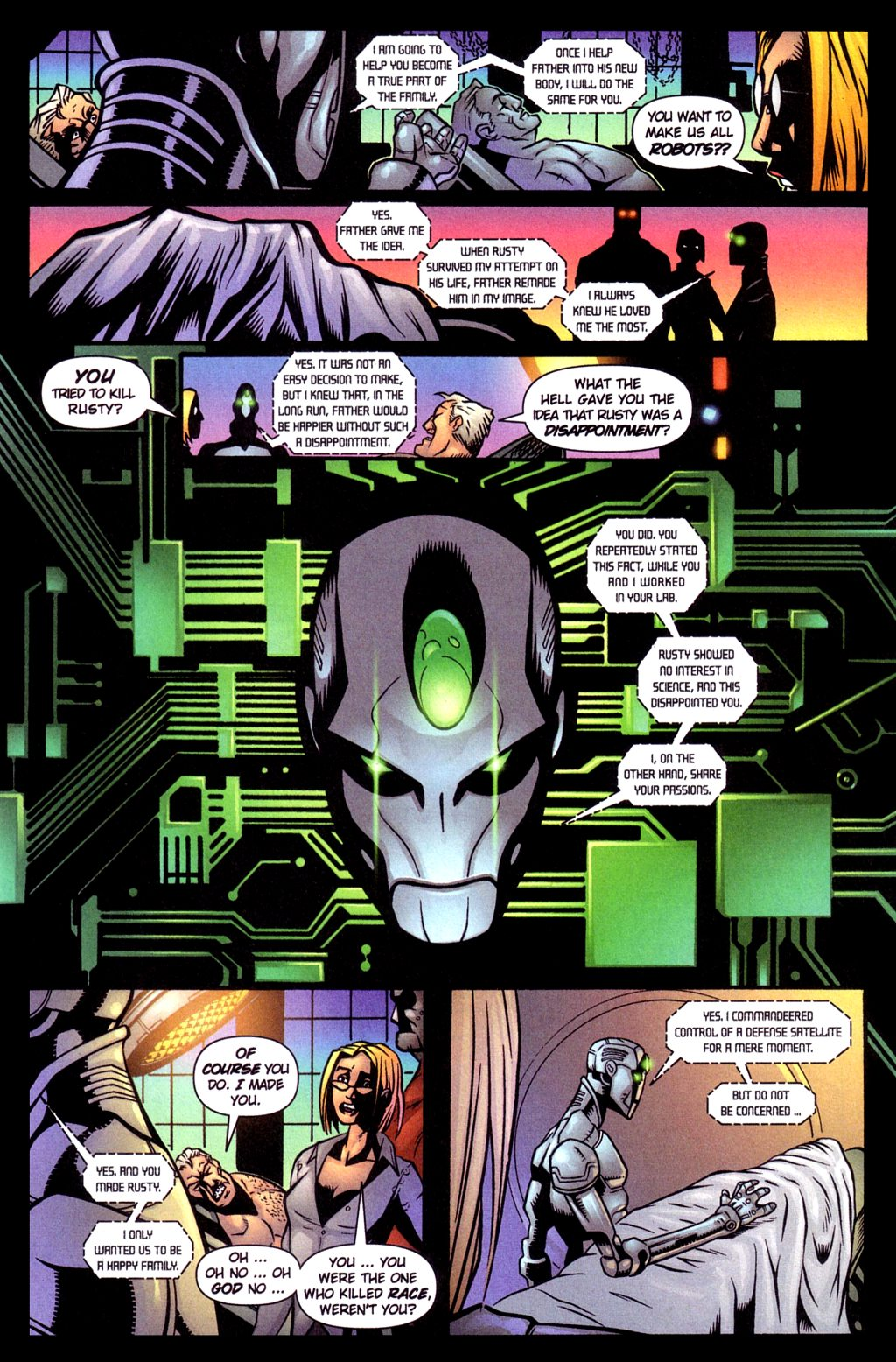 Read online Noble Causes (2002) comic -  Issue #4 - 5