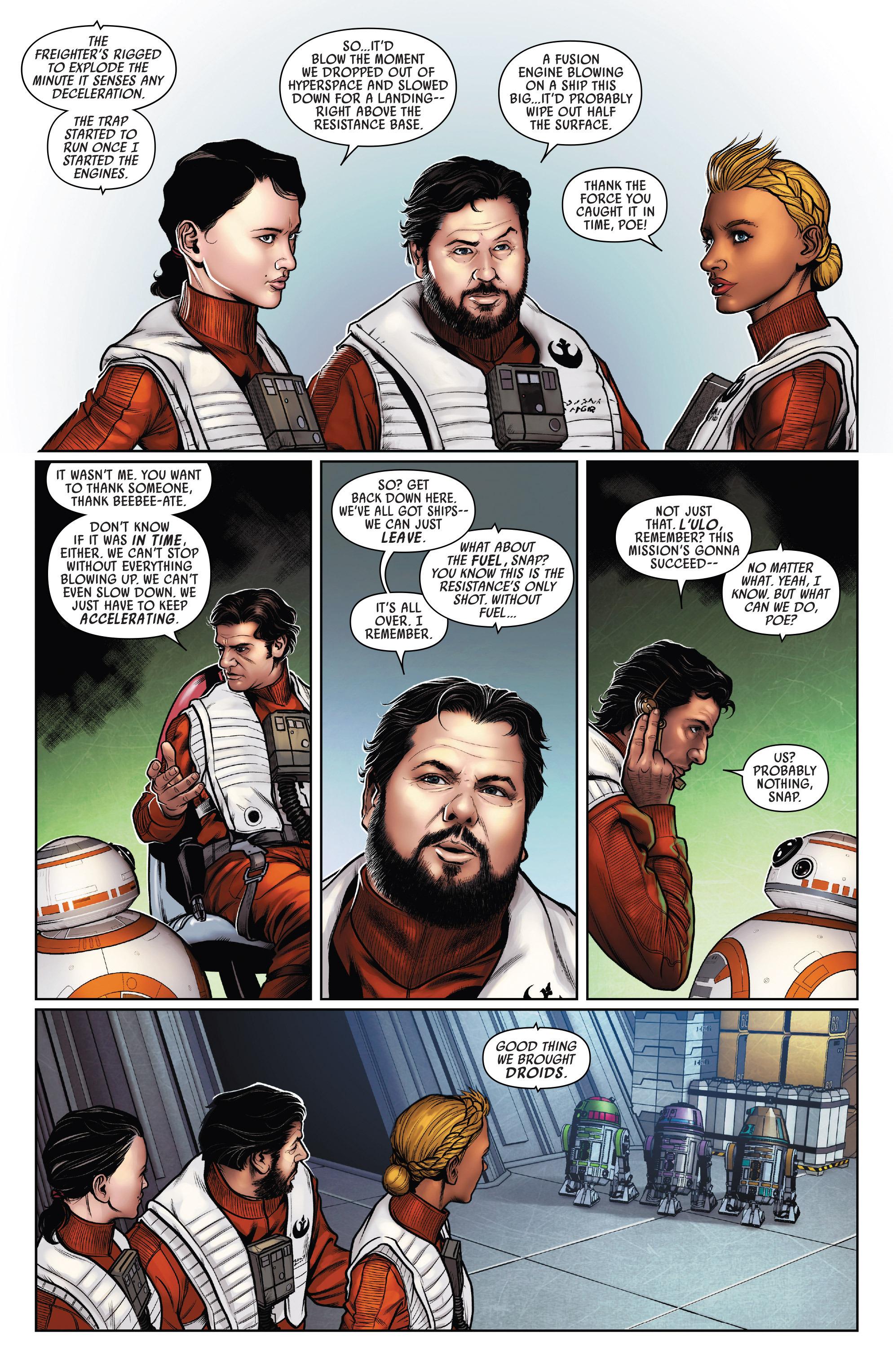 Read online Star Wars: Poe Dameron comic -  Issue #15 - 16