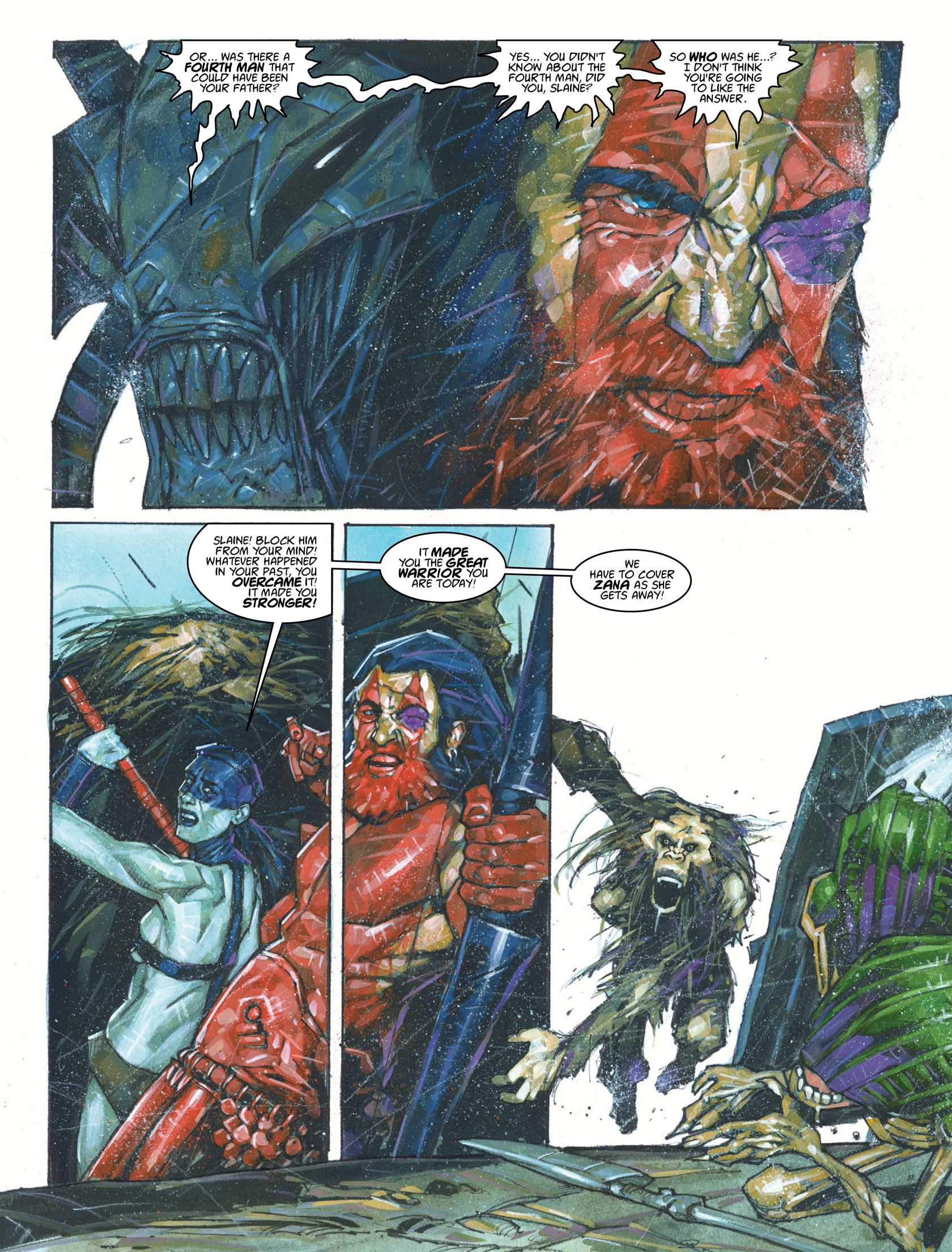 Read online 2000 AD comic -  Issue #1987 - 11