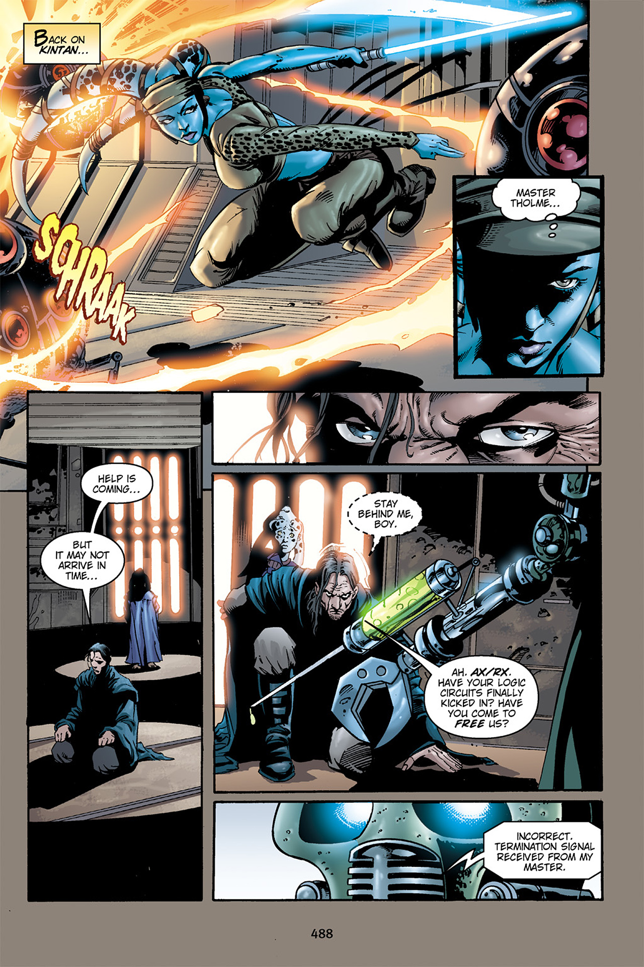 Read online Star Wars Omnibus comic -  Issue # Vol. 15.5 - 205