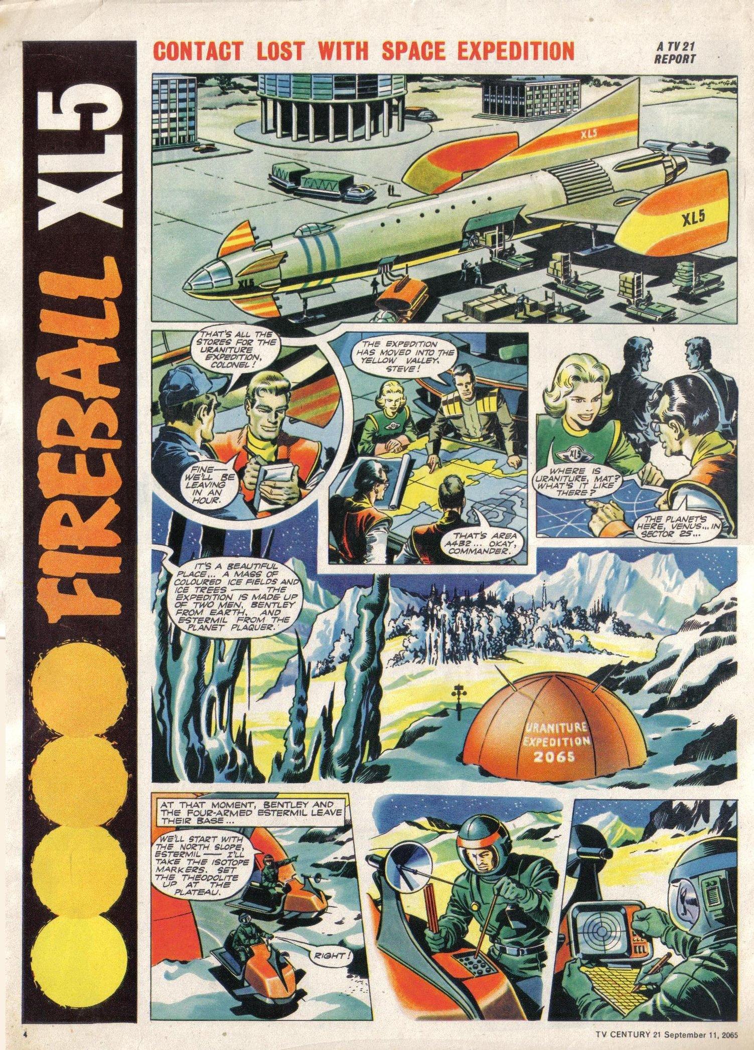 Read online TV Century 21 (TV 21) comic -  Issue #34 - 4