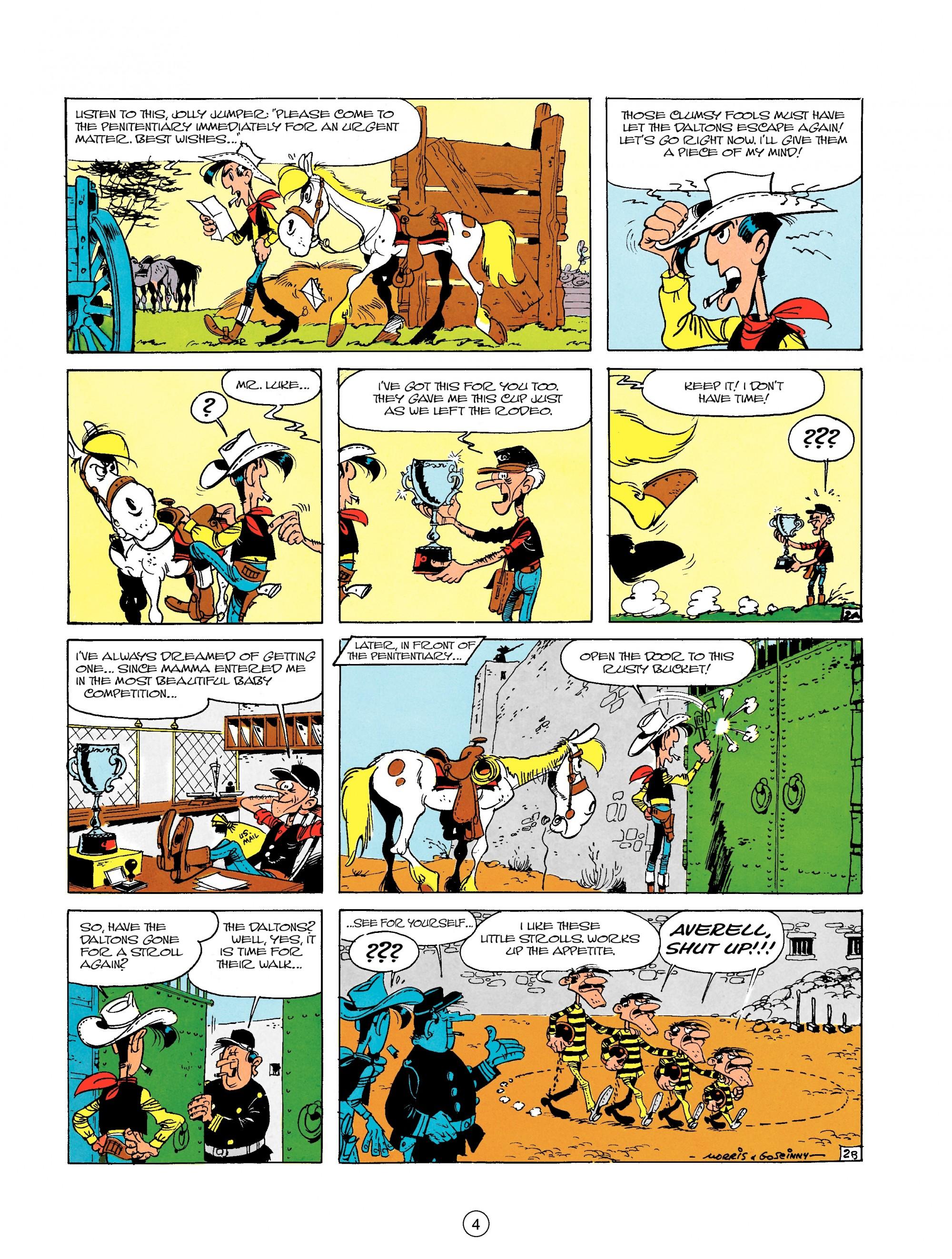 Read online A Lucky Luke Adventure comic -  Issue #18 - 4