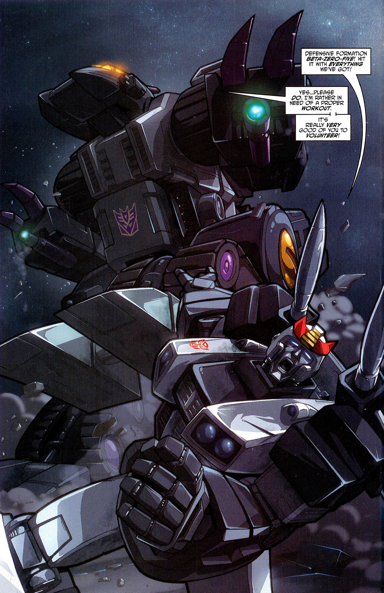 """Read online Transformers War Within: """"The Dark Ages"""" comic -  Issue #3 - 11"""