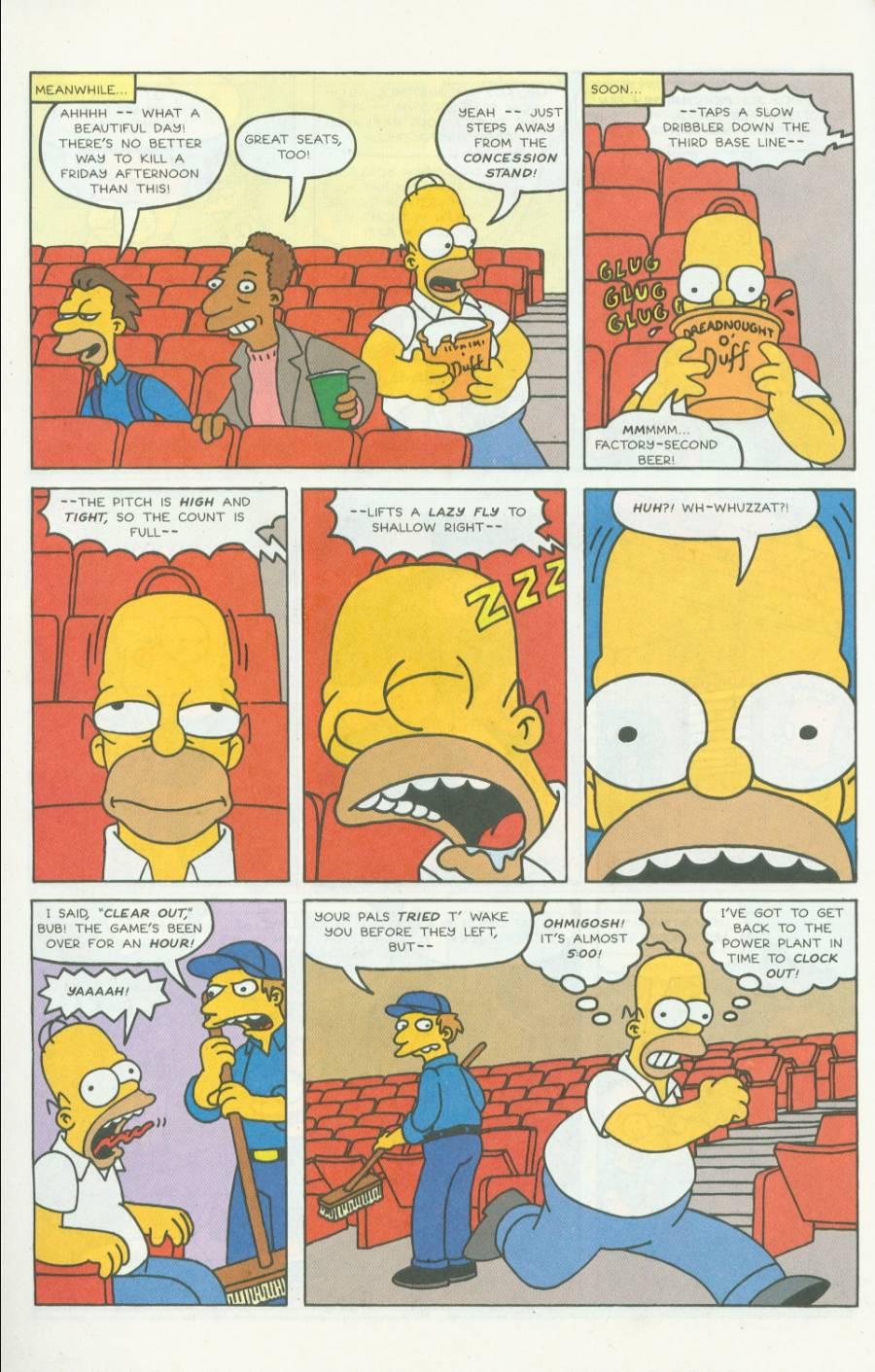 Read online Simpsons Comics comic -  Issue #4 - 11