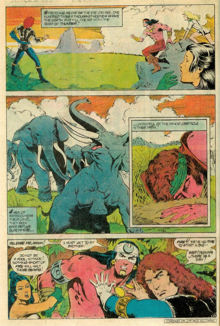 Read online Arion, Lord of Atlantis comic -  Issue #19 - 9