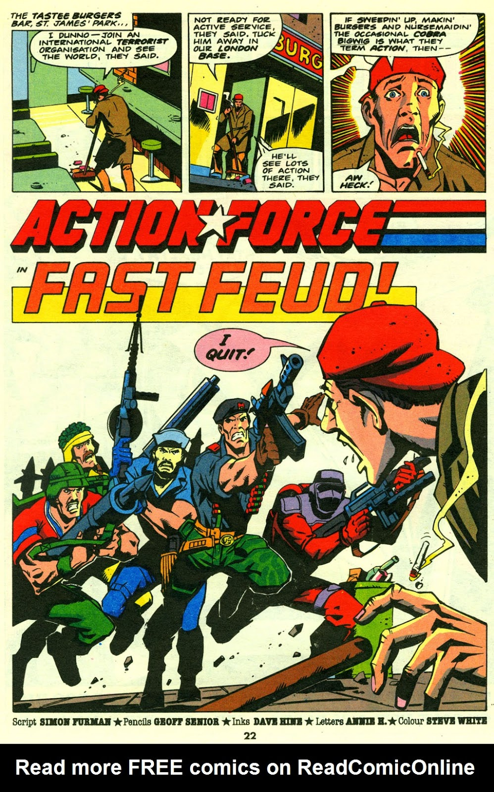 G.I. Joe European Missions issue 14 - Page 22