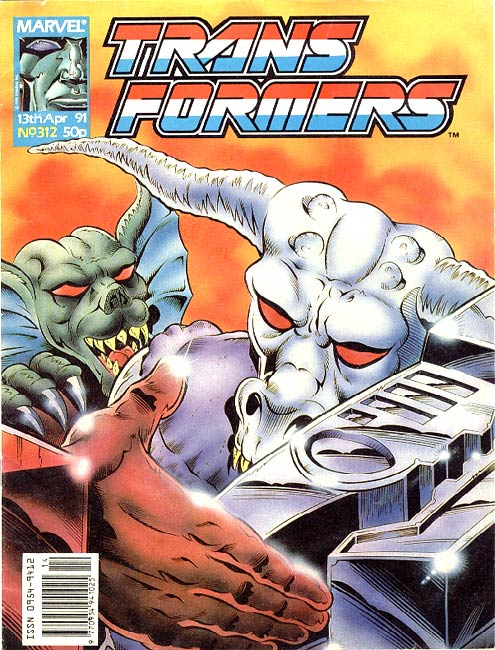 The Transformers (UK) 312 Page 1
