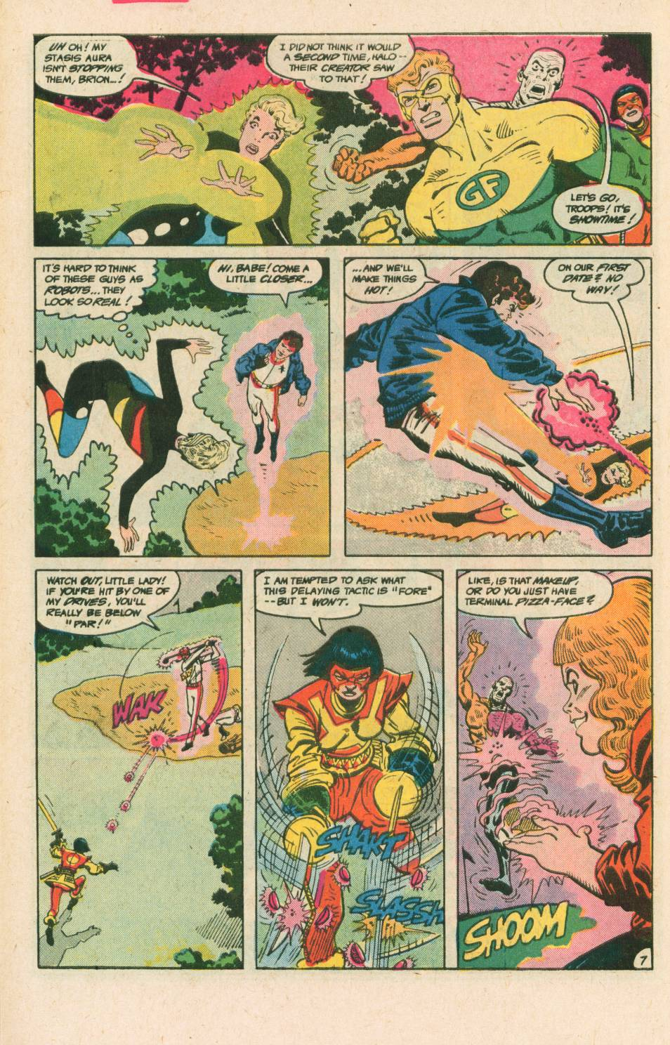 Read online Adventures of the Outsiders comic -  Issue #40 - 8