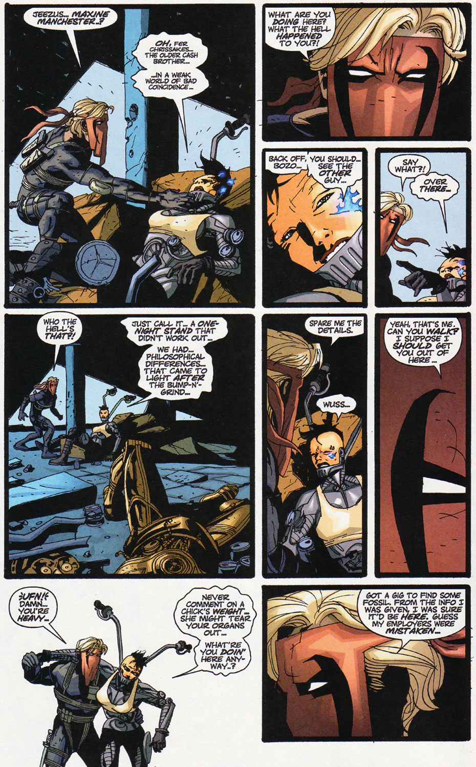 Wildcats (1999) Issue #11 #12 - English 5