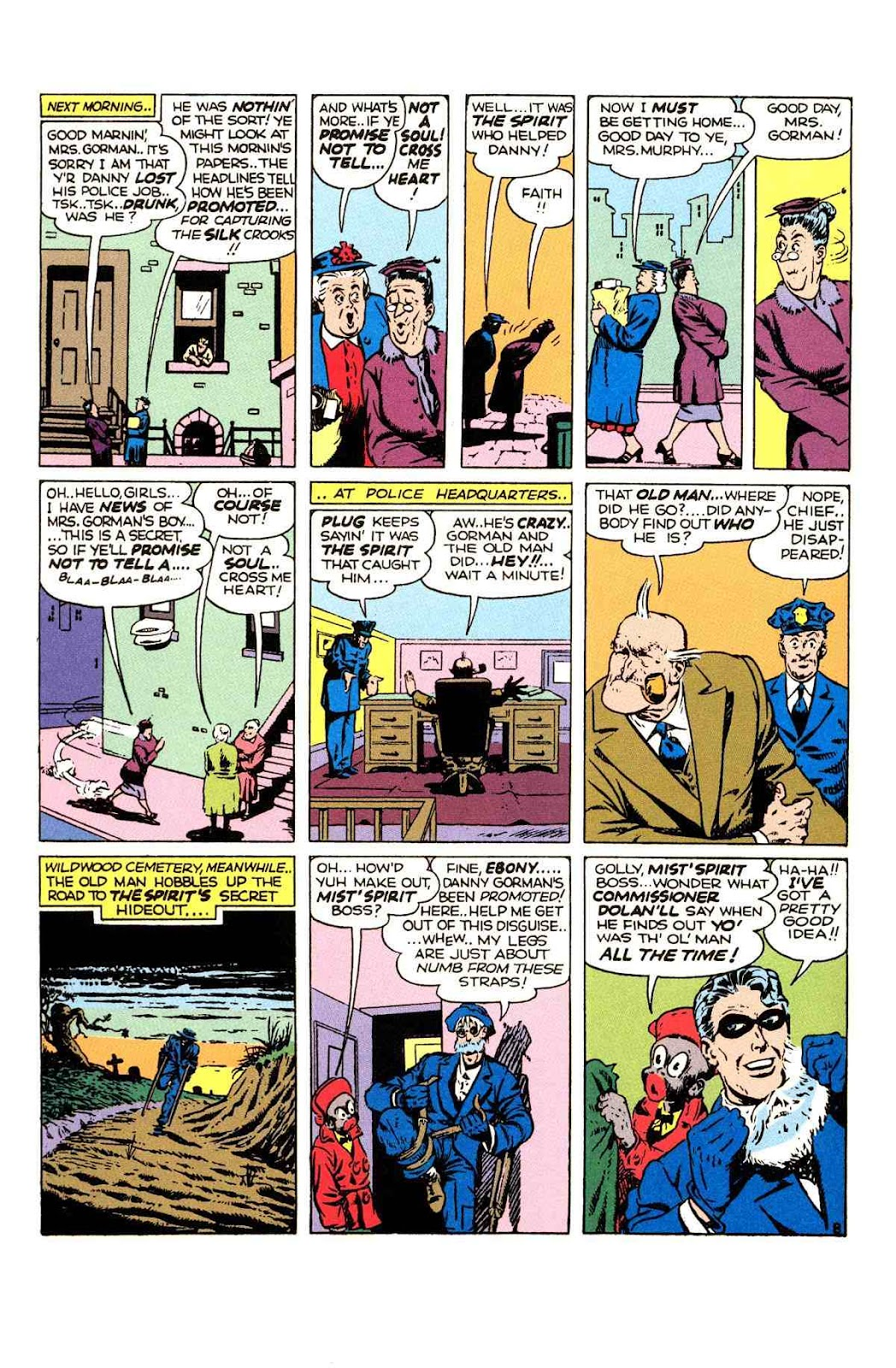 Read online Will Eisner's The Spirit Archives comic -  Issue # TPB 2 (Part 1) - 16