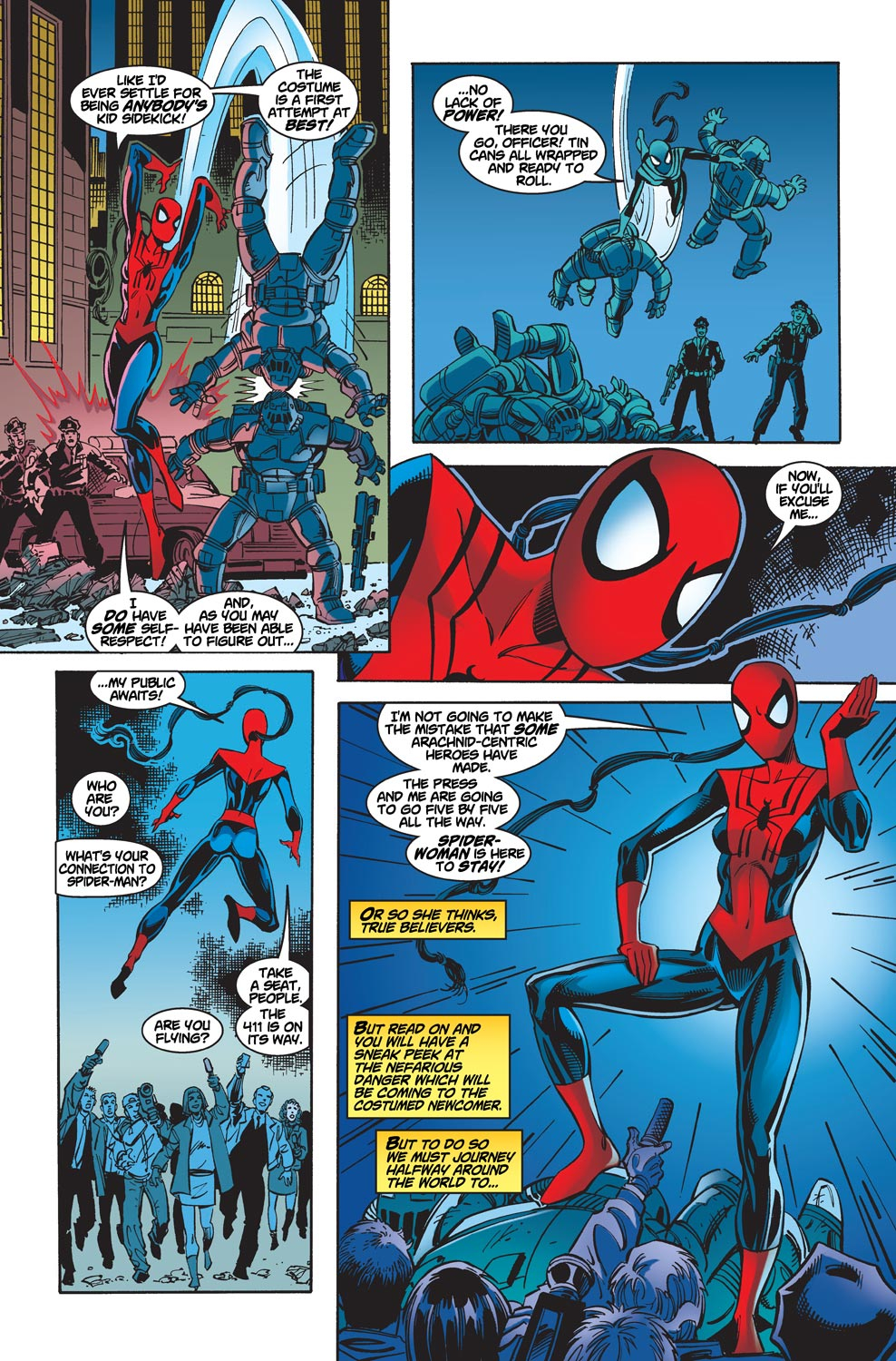 The Amazing Spider-Man (1999) 5 Page 3