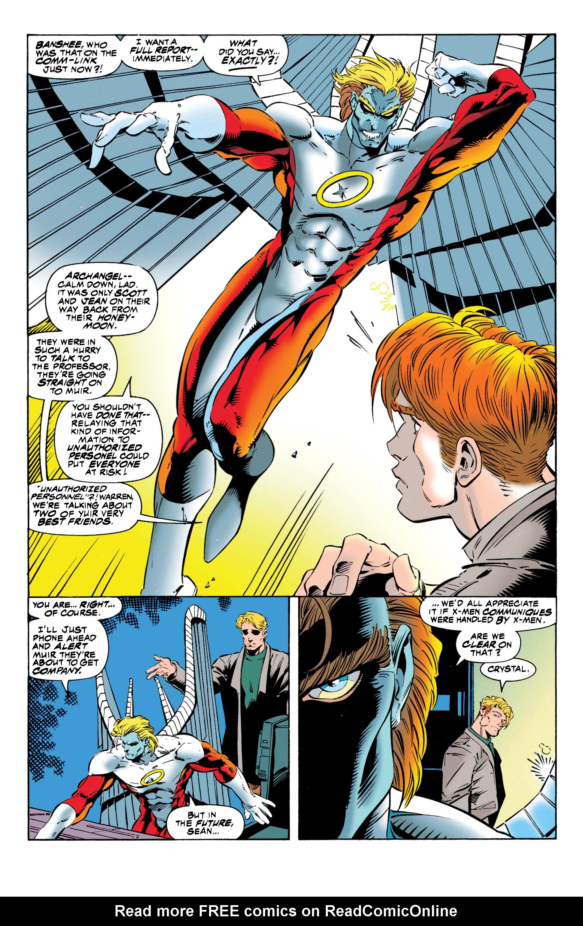 Read online Uncanny X-Men (1963) comic -  Issue #316 - 11
