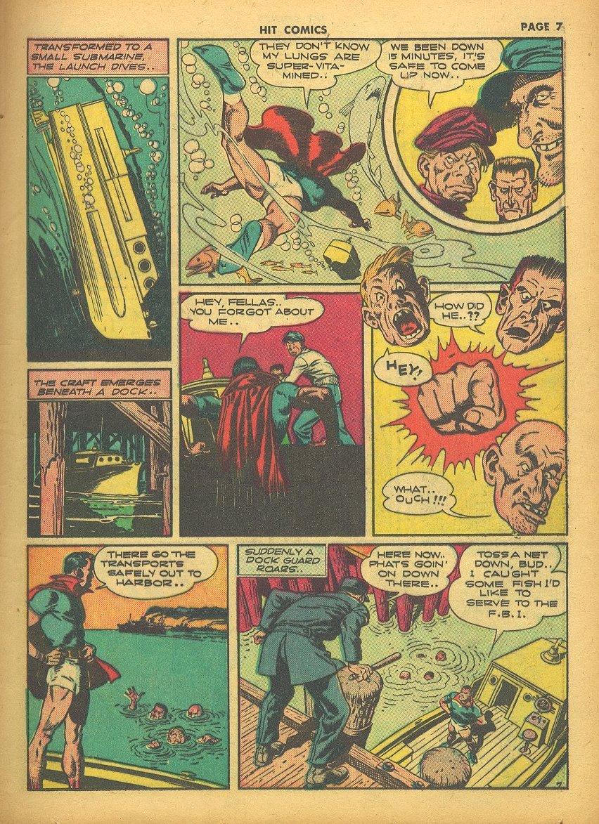 Read online Hit Comics comic -  Issue #24 - 9
