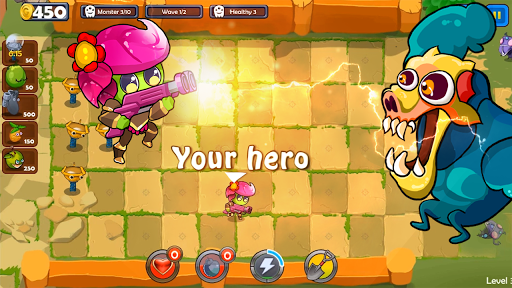 Fruits Vs Monsters Mod Cho Android