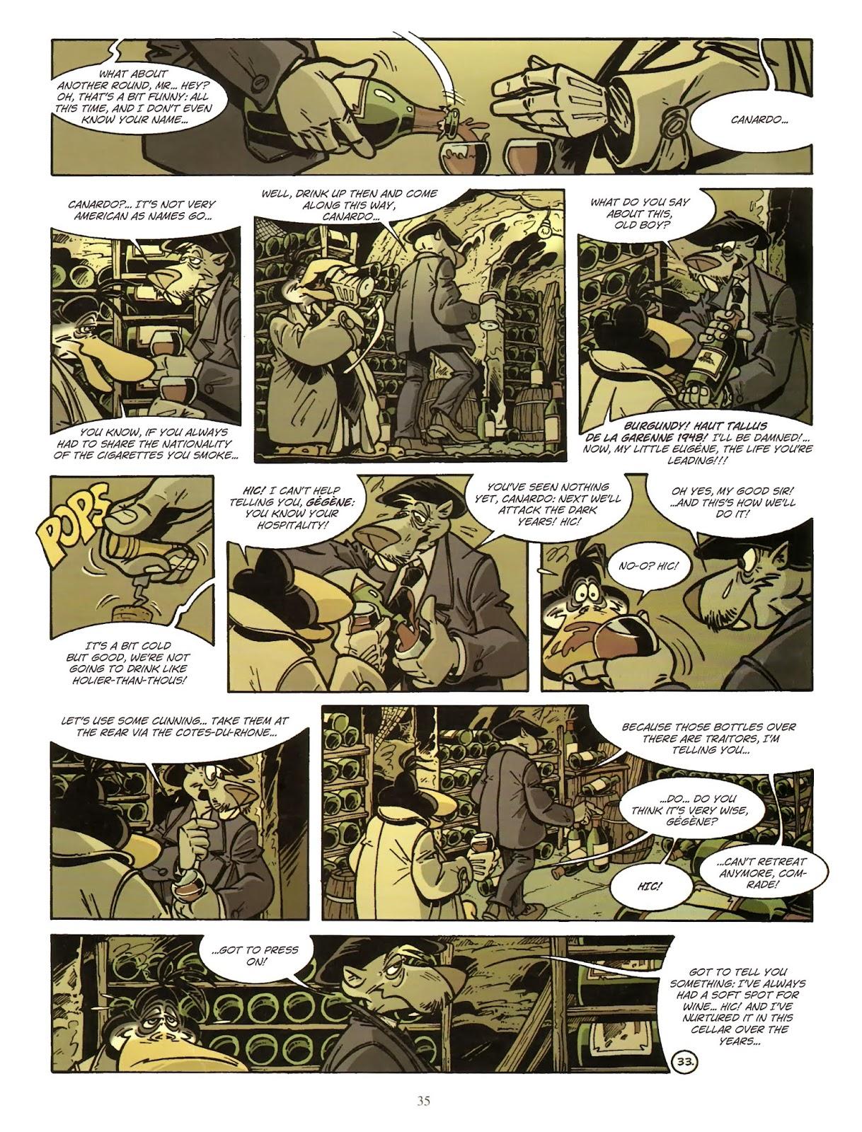 Une enquête de l'inspecteur Canardo issue 11 - Page 36