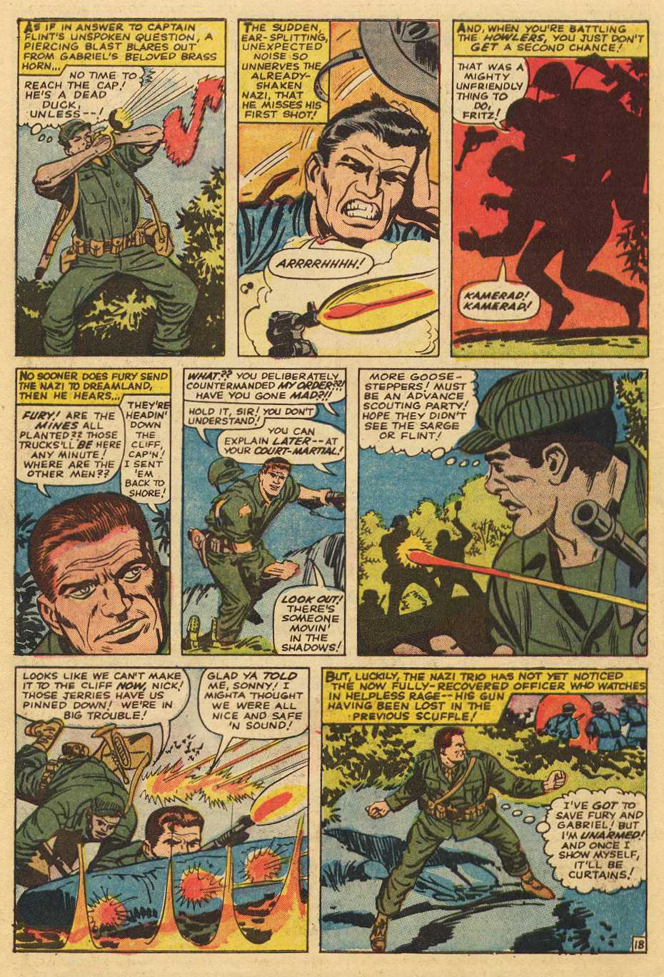 Read online Sgt. Fury comic -  Issue # _Special 2 - 62