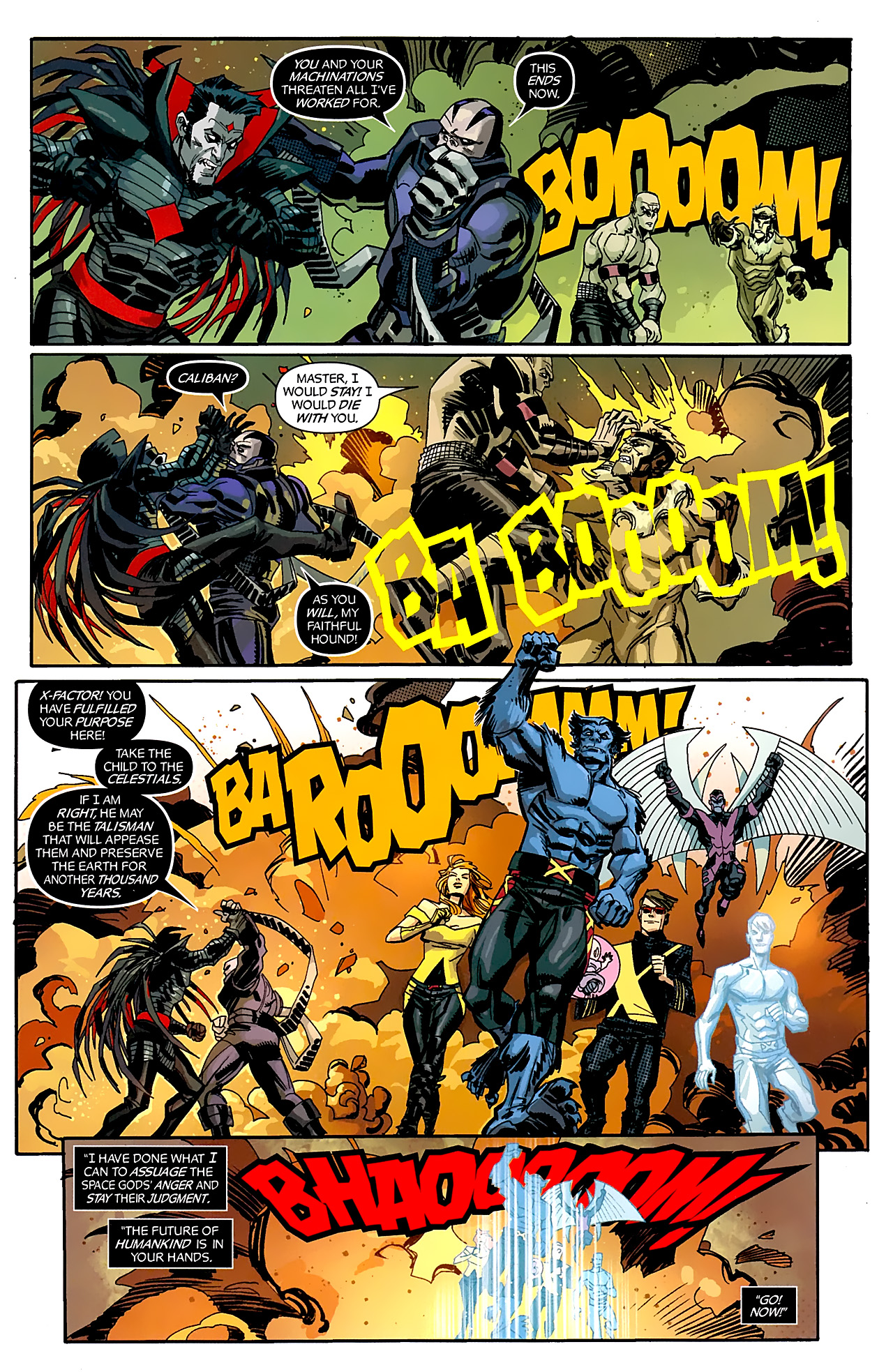 Read online X-Factor Forever comic -  Issue #5 - 7