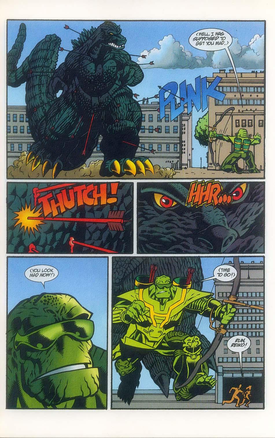 Godzilla (1995) Issue #7 #8 - English 12