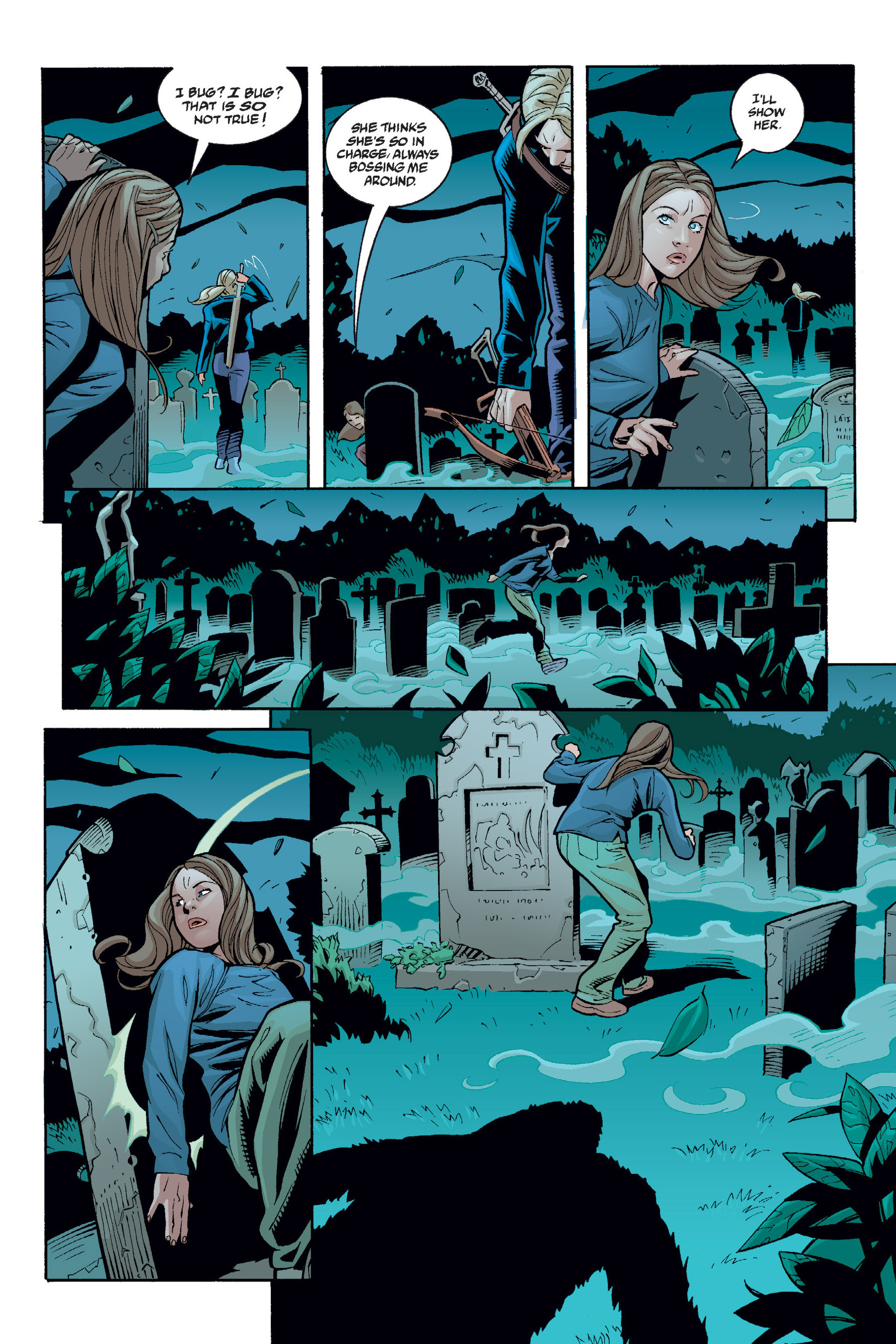 Read online Buffy the Vampire Slayer: Omnibus comic -  Issue # TPB 6 - 316