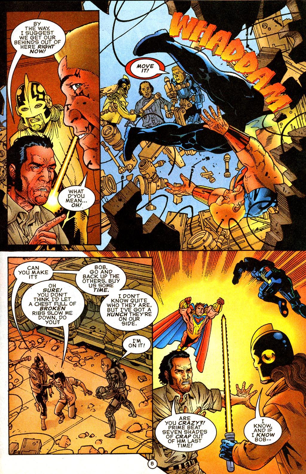 Read online UltraForce (1995) comic -  Issue #9 - 8