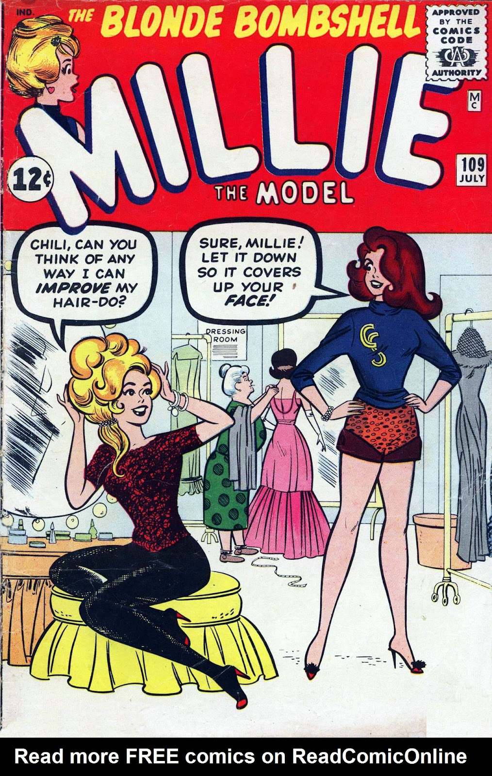 Millie the Model issue 109 - Page 1