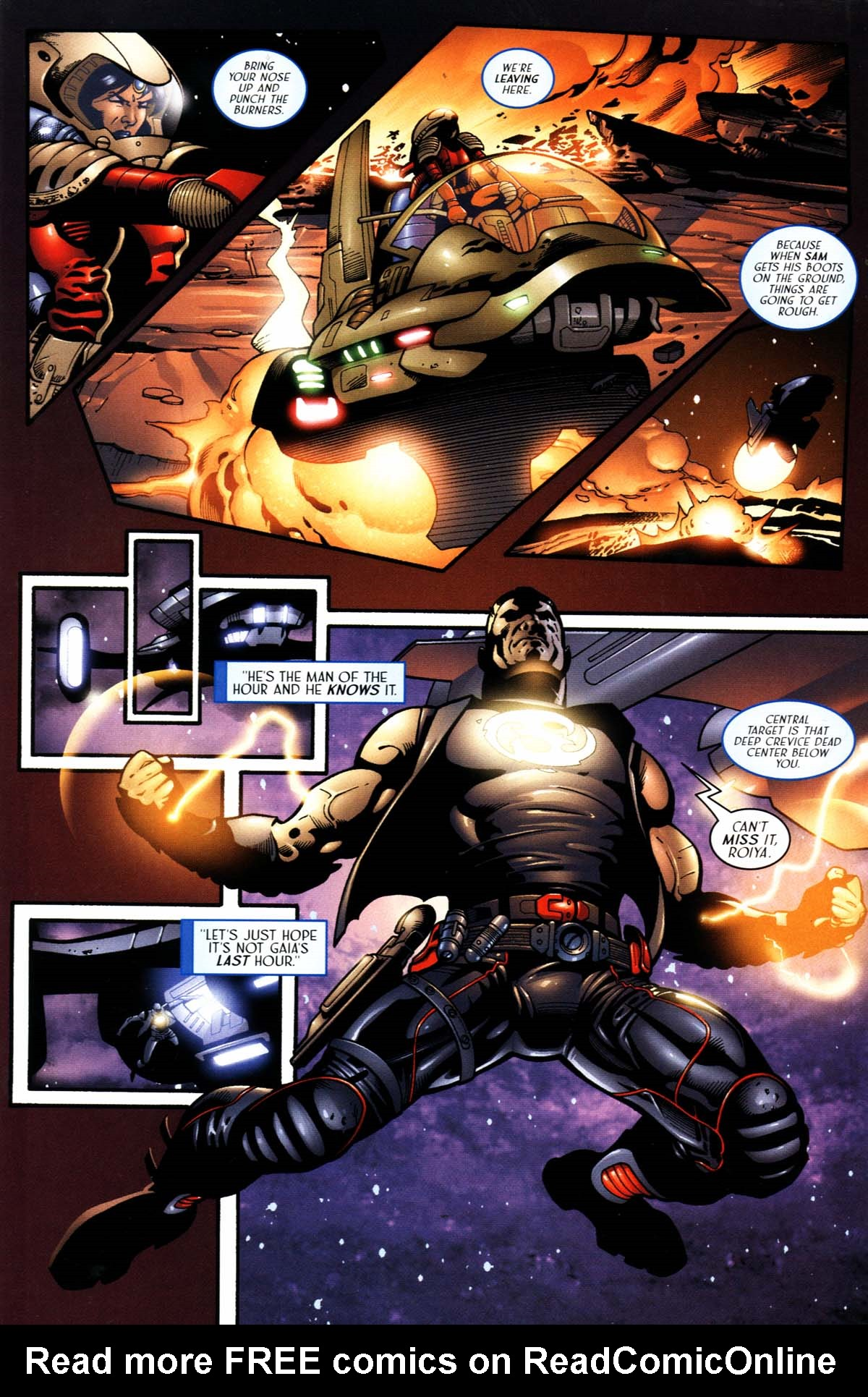 Read online Sigil (2000) comic -  Issue #23 - 25