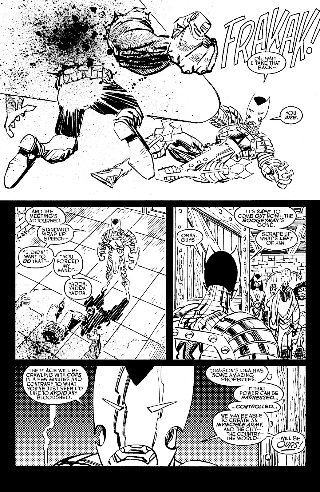 Read online Savage Dragon Archives comic -  Issue # TPB 6 (Part 6) - 9
