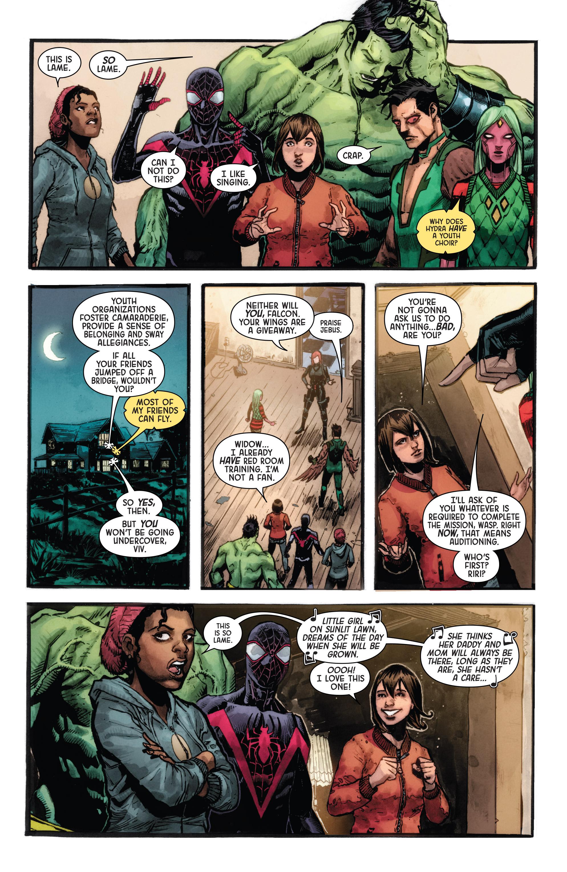 Read online Secret Empire: Uprising comic -  Issue # Full - 4