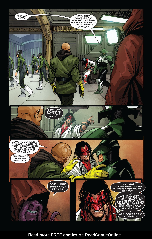 Read online Secret Warriors comic -  Issue #14 - 19