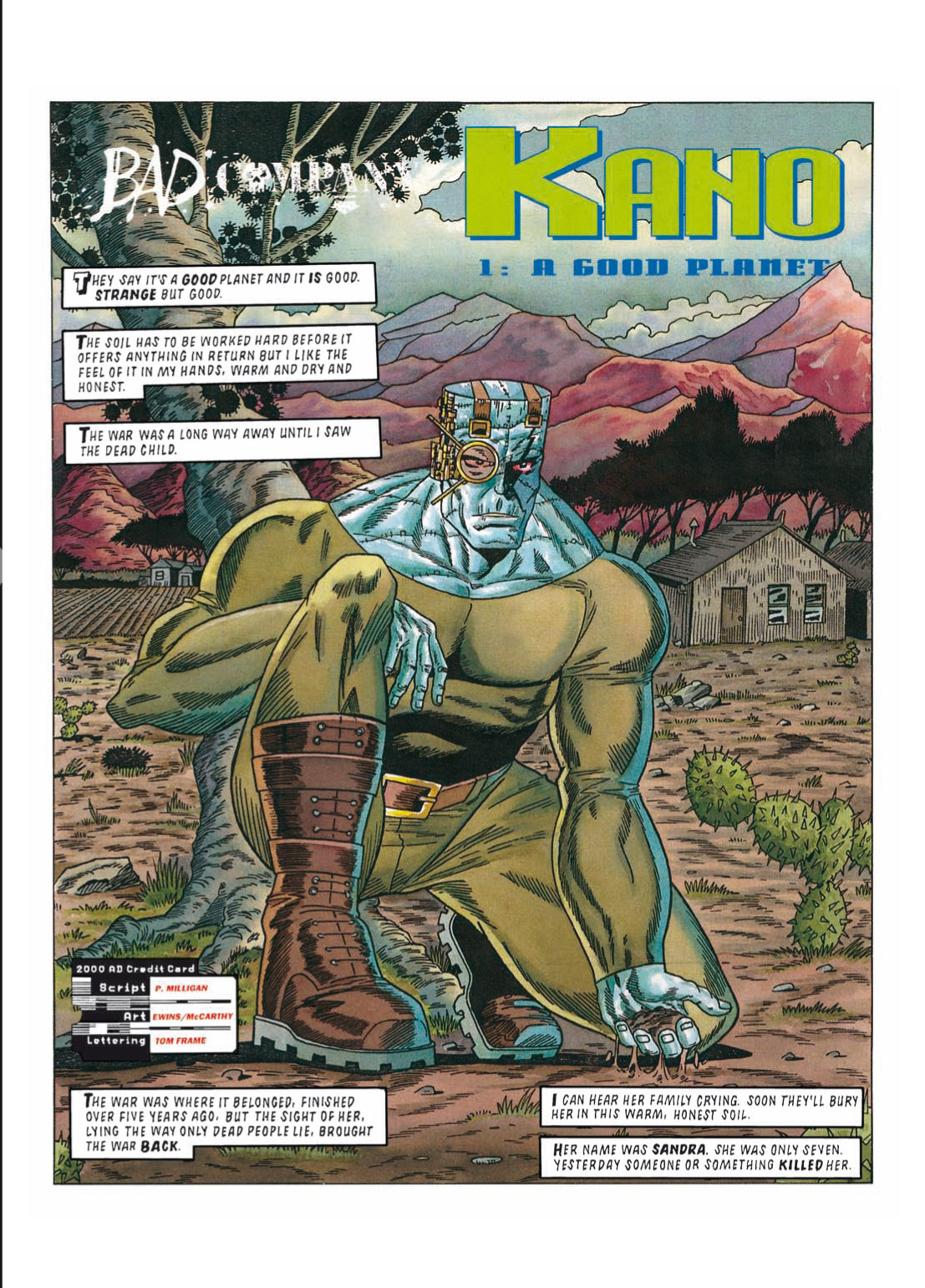 Read online The Complete Bad Company comic -  Issue # TPB - 263