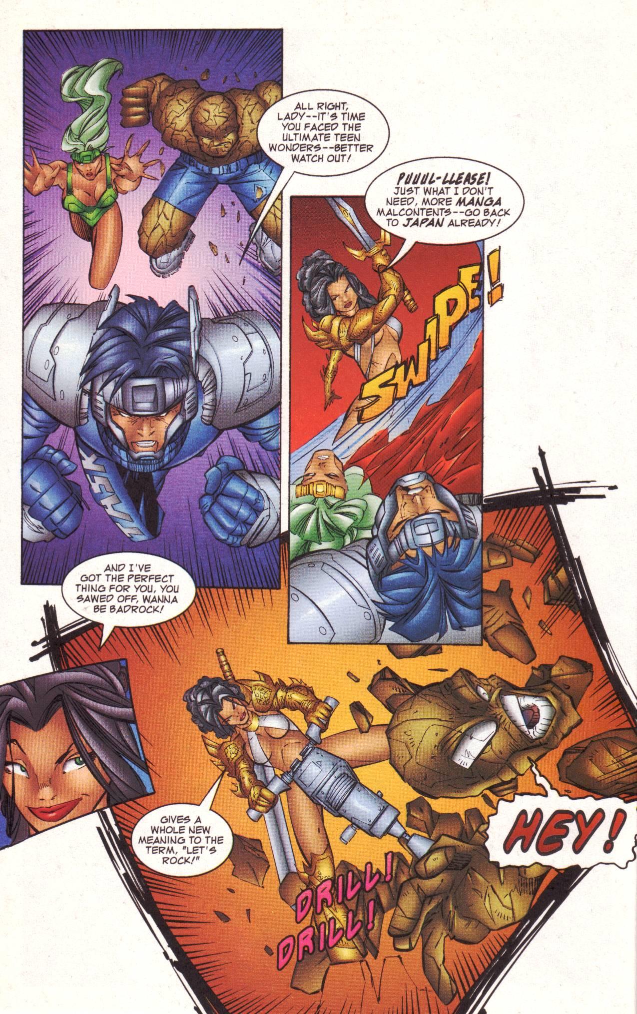 Read online Avengeblade comic -  Issue #2 - 14