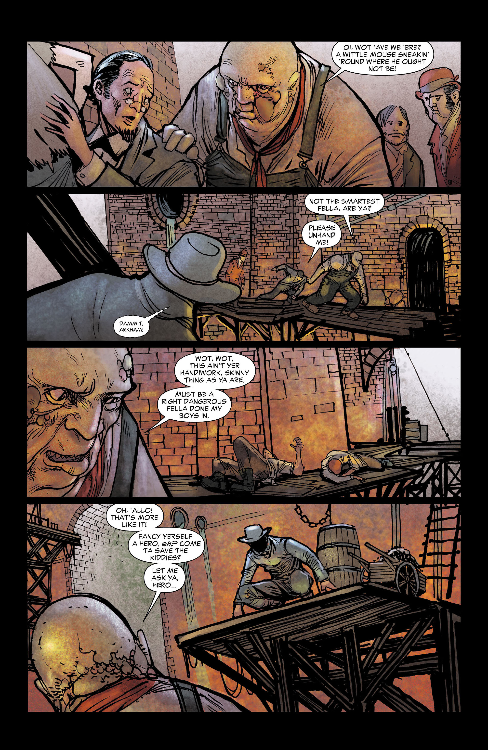 Read online All-Star Western (2011) comic -  Issue #4 - 19